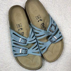 Betula Birkenstock Light Blue Sandals